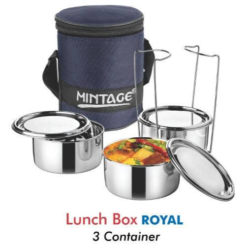 MINTAGE ROYAL LUNCH BOX