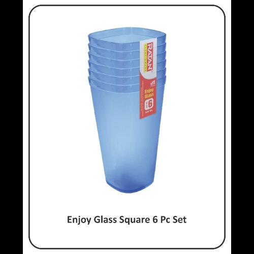 RATAN ENJOY GLASS SQUARE