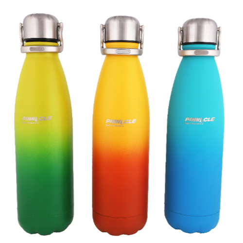PINNACLE PARADISE VACUSHIELD STAINLESS STEEL HOT & COLD BOTTLE