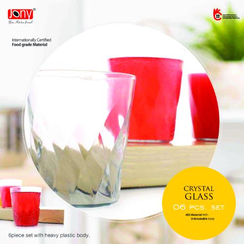 JONY CRYSTAL GLASS