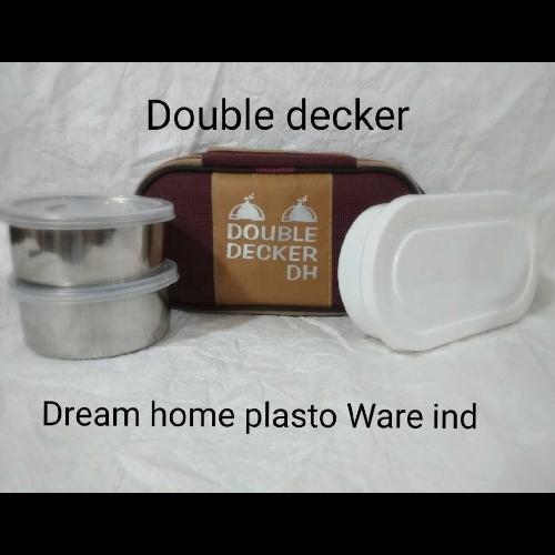 DREAM HOME DOUBLE DECKER LUNCH BOX