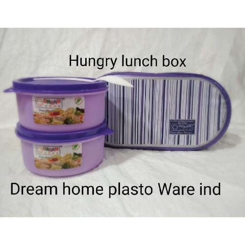 DREAM HOME HUNGRY LUNCH BOX