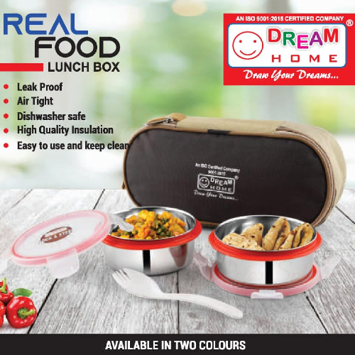 DREAM HOME REAL FOOD LUNCH BOX