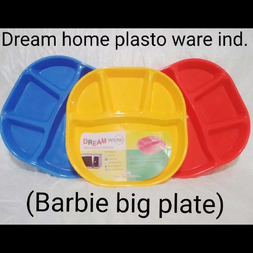 DREAM HOME BARBIE PLATE