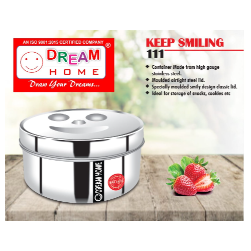 DREAM HOME KEEP SMILING CONTAINER