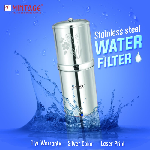 MINTAGE WATER FILTER AQUAGOLD